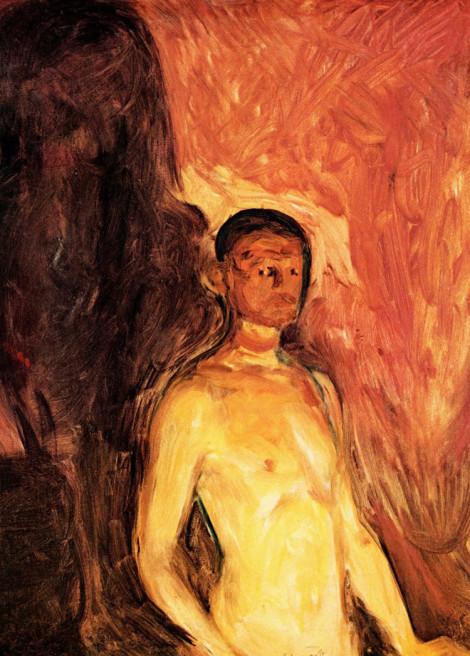Självporträtt i helvetet